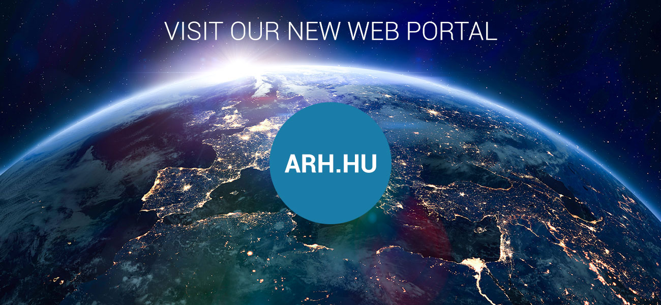 Visit our new web portal - arh.hu